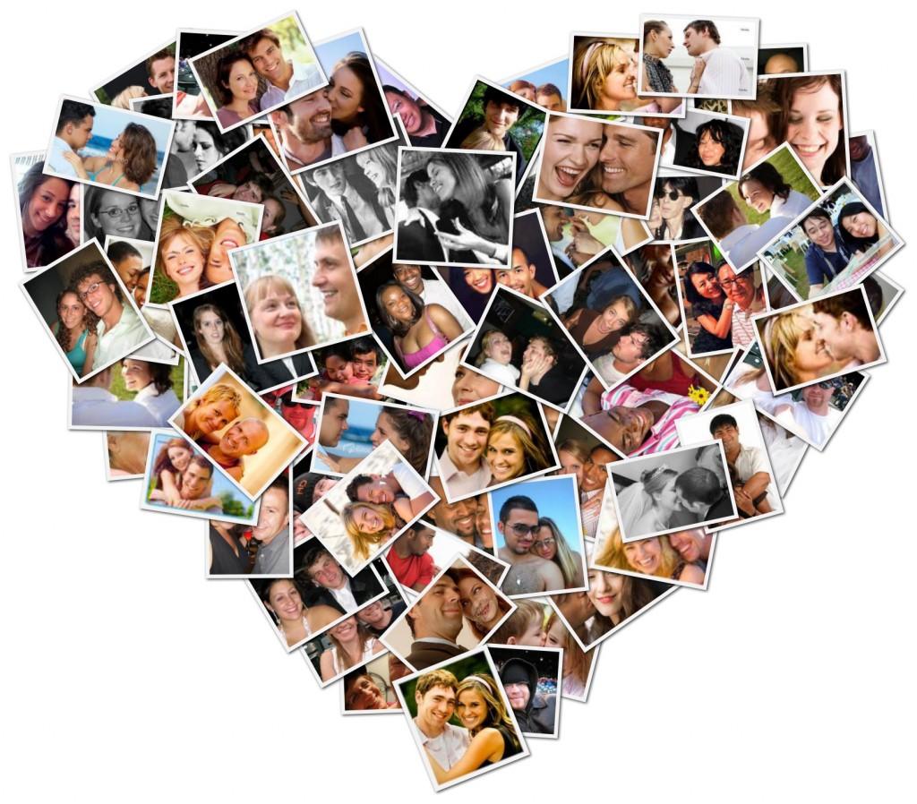 colaj foto iubire