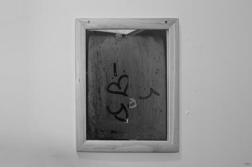 mesaj pe oglinda de dragoste i love you