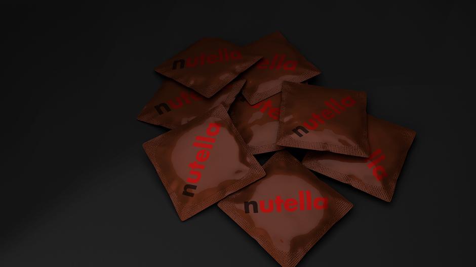 nutella prezervativ condom flavour