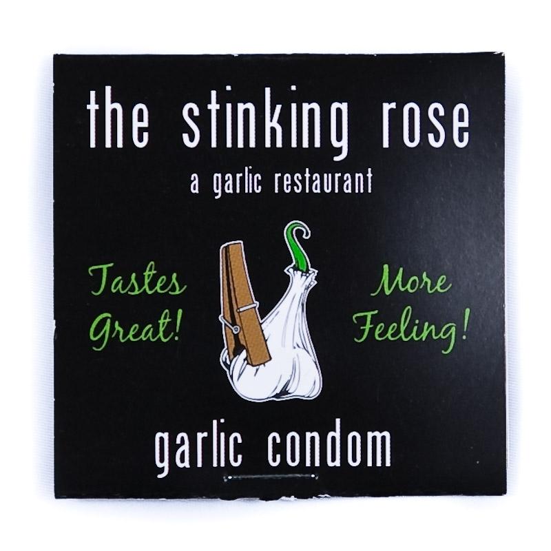 prezervativ usturoi - garlic condom
