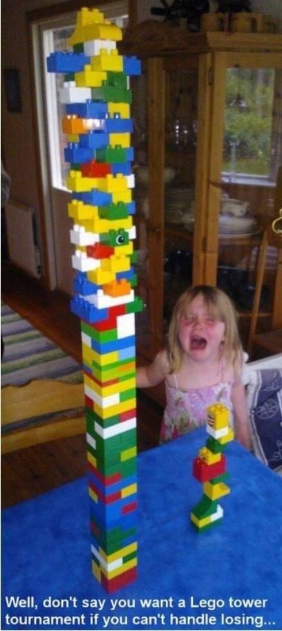 21. Acest părinte care a vrut să își învețe fiica din timp să suporte înfrângerile.